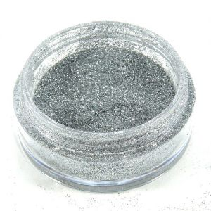 Glitter-Puder 2g Farbe: silber