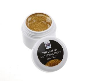 Color Gel - gold Metallic Glitter, 5g