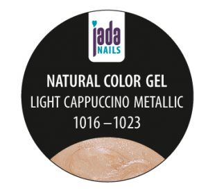 Natural Color Gel light cappuccino metallic 5g