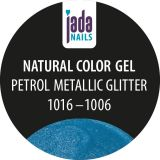 Natural Color Gel petrol metallic glitter  5g