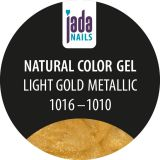 Natural Color Gel light gold metallic 5g