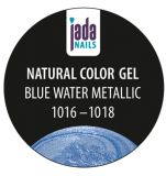 Natural Color Gel blue water metallic 5g