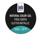 Natural Color Gel frog green glitter metallic 5g